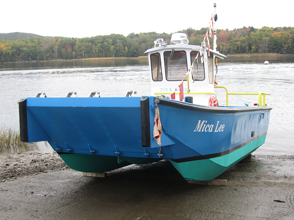 Trans Cat 26 - Twin Hull for added stibility