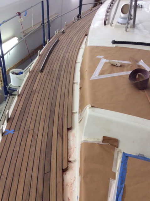 Starboard side needs Bulwarks and cover boards