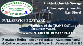 Winterport Boat Yard - Builders of the Trans Cat fast livery vessel